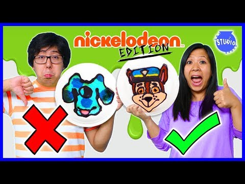 PANCAKE ART CHALLENGE NICKELODEON EDITION ! Learn how to do DIY Pancake Art! mp3