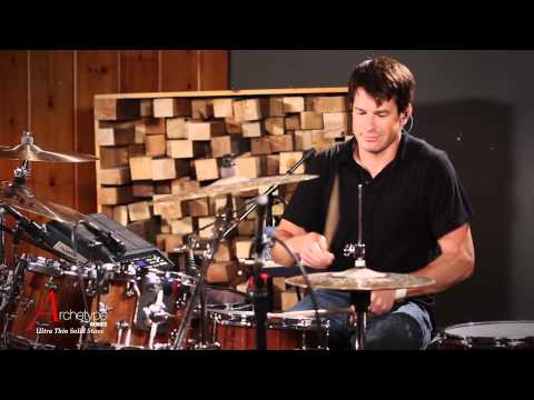 Johnny Rabb Drum Solo #1 on Hendrix Drums Archetype Stave Walnut Acoustic Drum Kit Set
