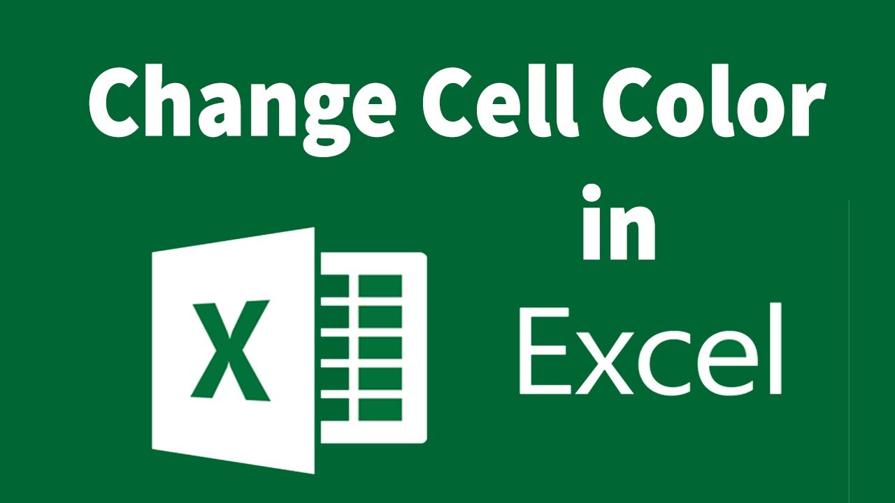 Automatically change the cell color in Excel if input some data | How to Make a Cell Turn a Color - YouTube