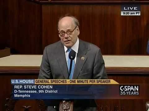 Congressman Cohen Pays Tribute to Frank McRae on the House Floor