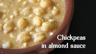 Chickpeas In Almond Sauce  By Spanish Cooking