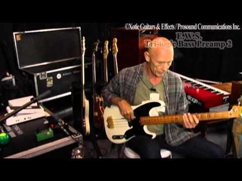 Michael Rhodes with E.W.S. Tri-logic Bass Preamp2 part5