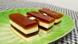 HOW TO MAKE FLAN CHEESE JELLY AT HOME - CKK
