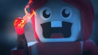 EXPLODINGTNT VS ZOMBIE TURKEY - Stop Motion Animation