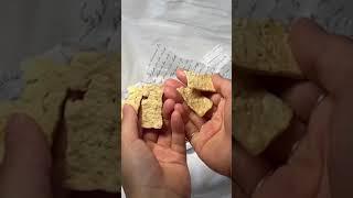 전자레인지로 만드는 초간단 '두부 과자' 레시피! #s…