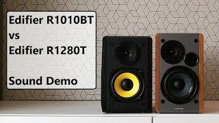 Edifier R1010BT vs Edifier R1280T  ||  Sound Demo