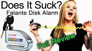Falante Alarm Disc Lock -  Full Review