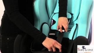 Autostoeltje Nania Cosmo Driver installatie met rijrichting mee   Groep 0+1