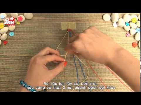 DIY: Thắt vòng tình bạn cực xinh chỉ với 5 phút