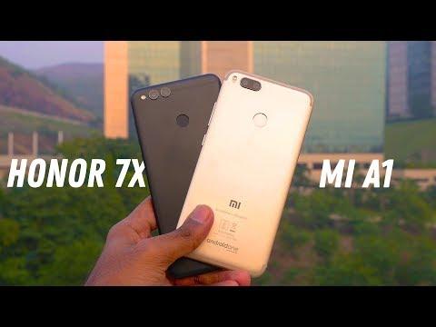 Xiaomi Mi A1 vs Honor 7X Full comparison!  A close call!