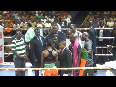 Lolita Muzeya from Zambia Wins the WBC Women  Silver Welterweight Title