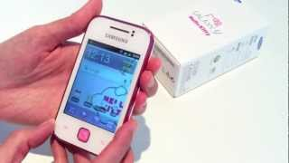 Latest Samsung Galaxy Y Hello Kitty unboxing!