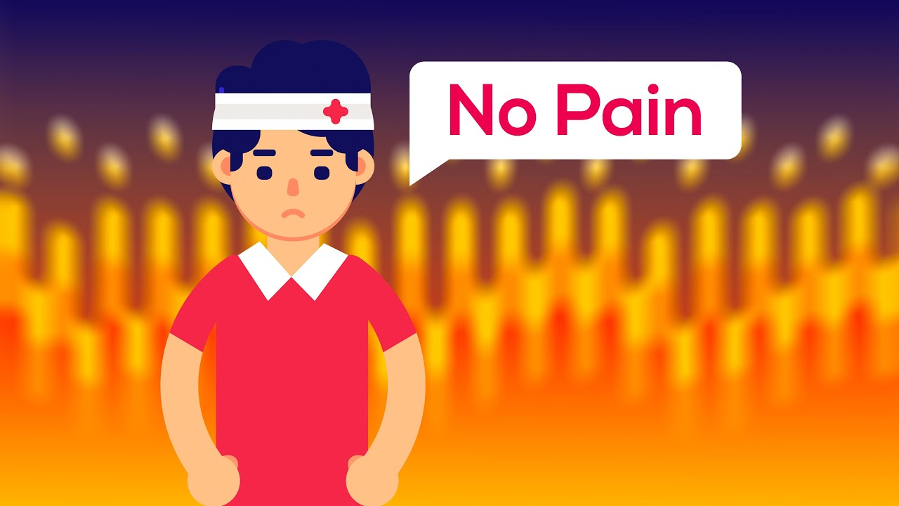 Can a person feel no pain? (Congenital insensitivity to pain) - YouTube