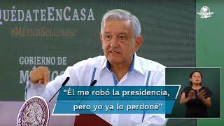 El Presidente aseguró que el juicio a García Luna está a cargo de un juez en EU, sobre la cual él no tiene influencia