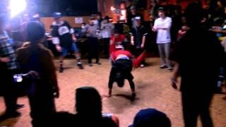 ZAKAO ACT 1on1 freestyle battle 予選