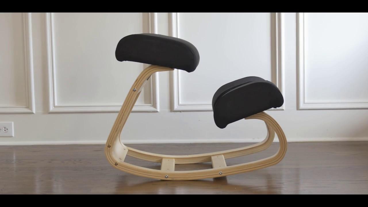 Rocking kneeling chair - Sleekform Balancing Kneeling Chair Assembly Video