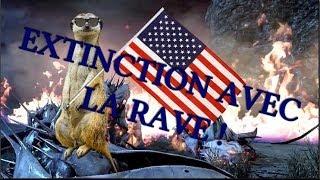 Condensé d'un extinction avec les Rave !