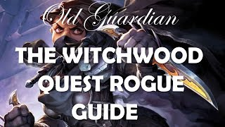 How to play Quest Rogue (The Witchwood Hearthstone deck guide)