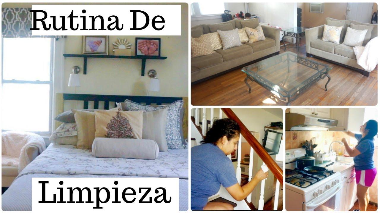 Mi rutina de limpieza de todas las ma anas limpieza en - Fotos de limpieza de casas ...