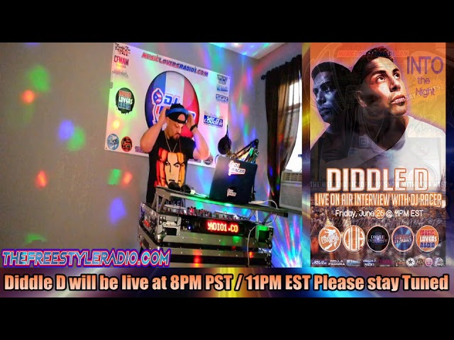 DJ RACER INTERVIEW WITH DIDDLE D - 06/26/2020