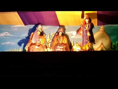 Rash Mela Festival in Chittigunge Kalibari, Budge Budge, Kolkata