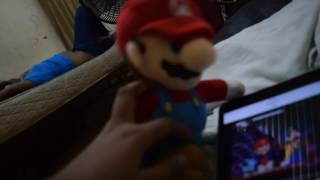 MARIO REACTS to super mario the great mission to rescue princess peach