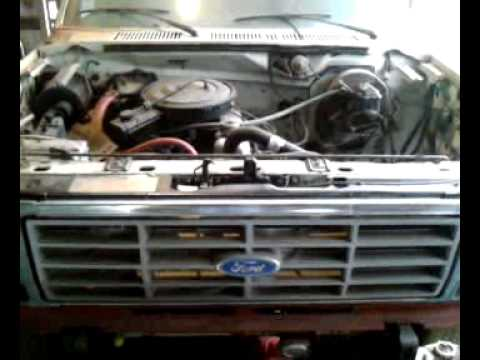 1983 Ford F150 300 Straight 6 5speed Cold Start Youtube