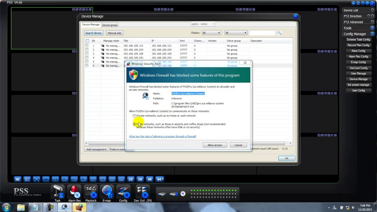 How to Configuration DAHUA DVR NVR PC View Settings