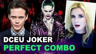 Joker Origin Movie - Bill Skarsgard AND Jared Leto