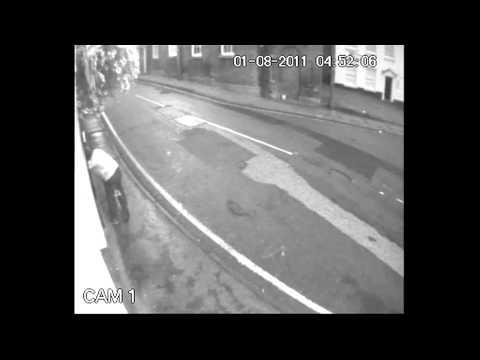 Cheshire East CCTV Arson Attack