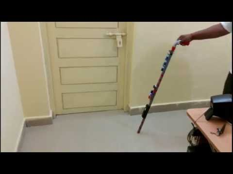 Electronic Walking Aid for Visually Challenged People