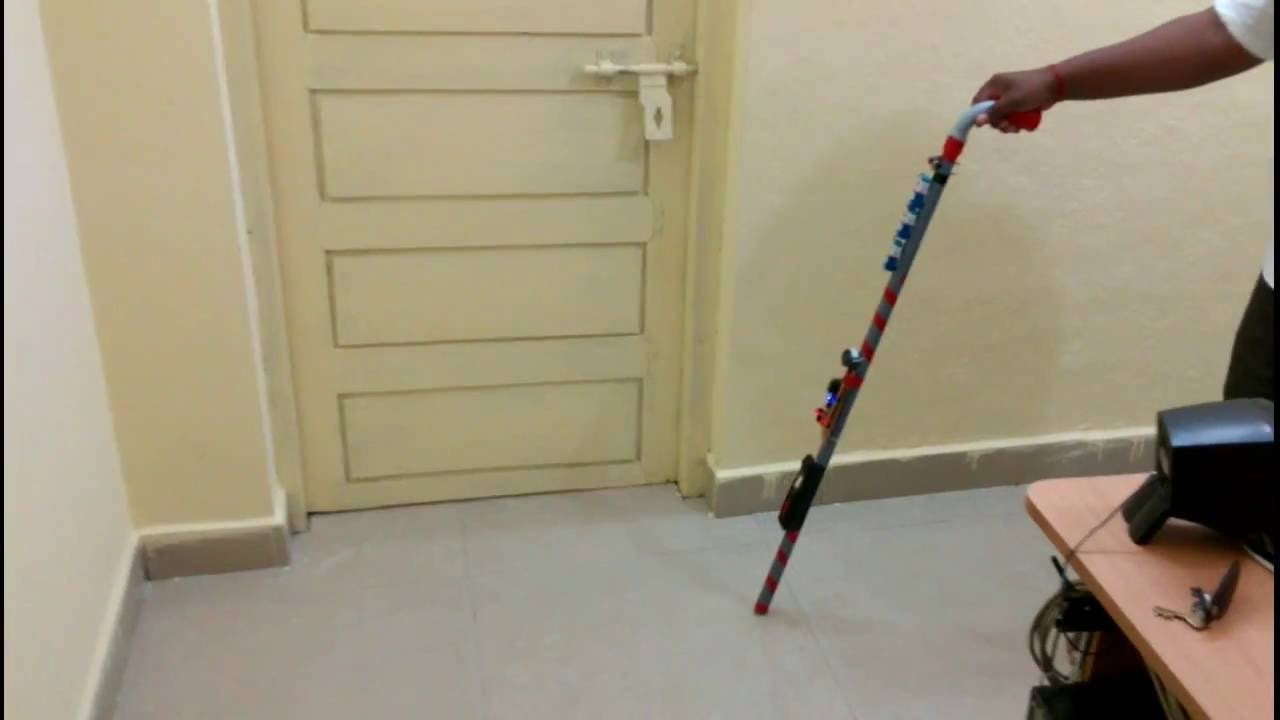 electronic walking stick for blind people school project ece