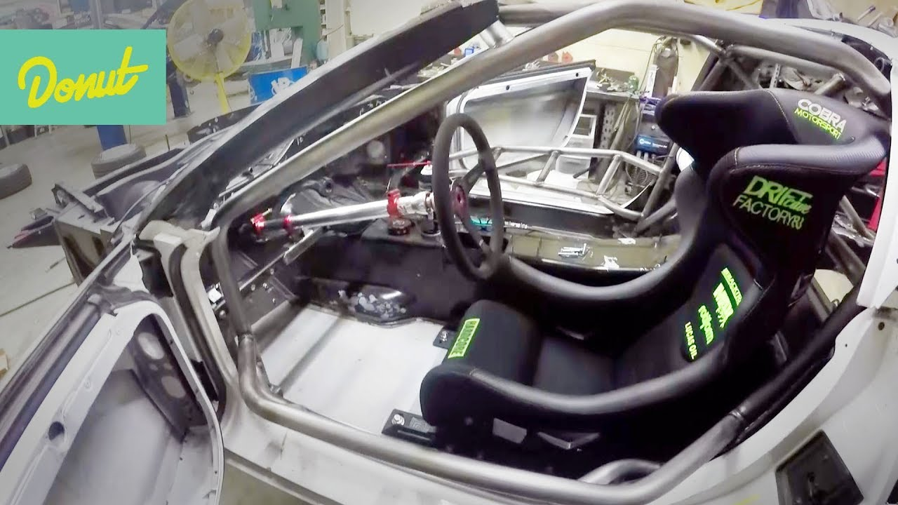 Drift Corvette Build Ep3 Installing Steering Column