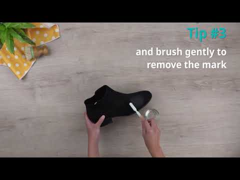 Tips to clean suede shoes | Cleanipedia