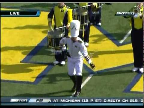 Michigan Marching Band Pregame