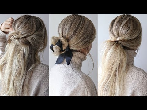 EASY HAIRSTYLES PERFECT FOR FALL, AUTUMN thumbnail