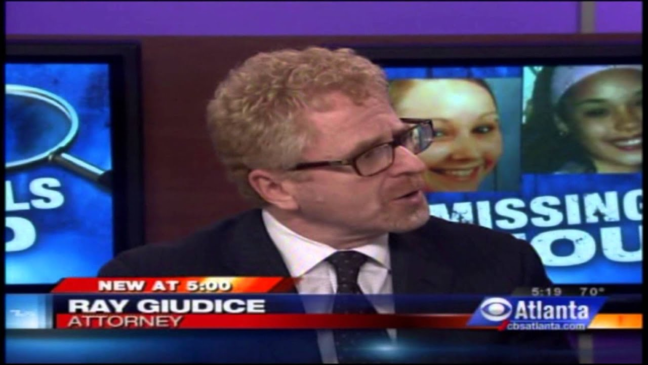 ray guiduce appearing on cbs atlanta local evening news wgcl-tv may