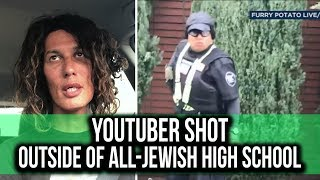 YouTuber shot outside of Jewish High School in LA