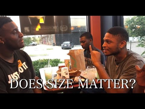 Young Men Discuss Size - Does Size Really Matter?