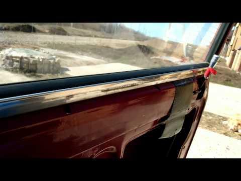 Замена уплотнителей стекла ВАЗ 2105-07