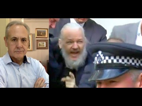 A Prisão De Assange, A Submissão De Bolsonaro Aos EUA E O Ataque Ao Irã São Eventos Interligados