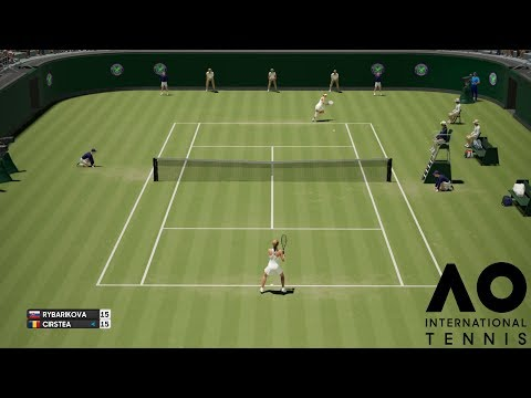 Magdaléna Rybáriková vs Sorana Cîrstea - AO International Tennis - Gameplay