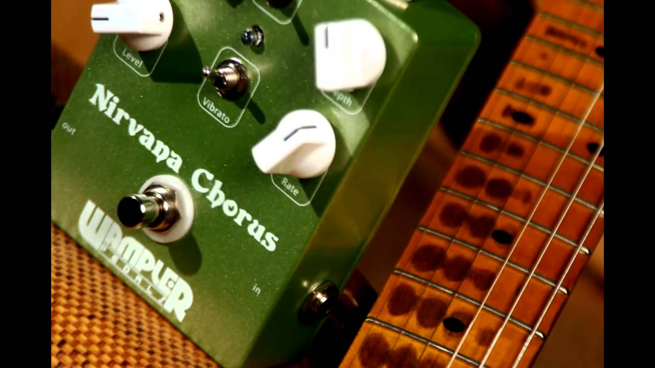 wampler nirvana chorus guitar pedal youtube. Black Bedroom Furniture Sets. Home Design Ideas