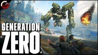 KILLER ROBOT BOSS FIGHT! Open World Survival Game   Generation Zero Gameplay