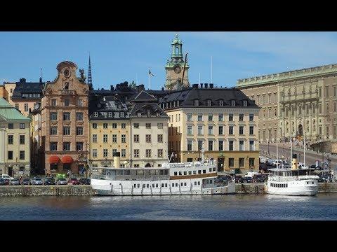 NORWEGIAN GETAWAY Baltic Cruise 2017-  Day 8 Nynashamn & Stockholm