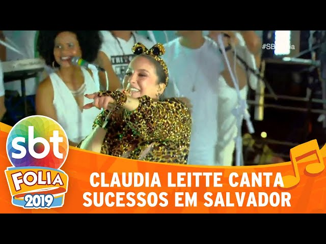 Claudia Leitte canta sucessos no carnaval de Salvador | SBT Folia 2019
