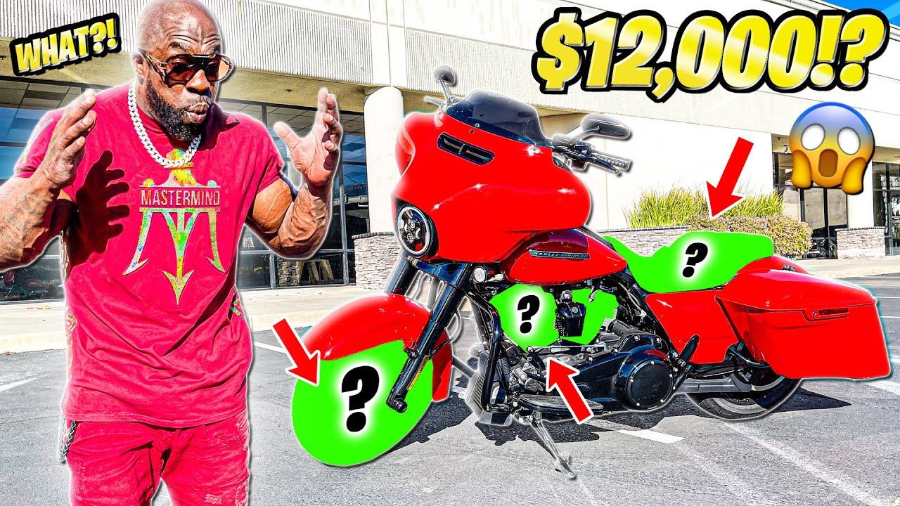 I CAN'T BELIEVE THIS JUST HAPPENED ON MY HARLEY-DAVIDSON STREET GLIDE (Motovlog #1)