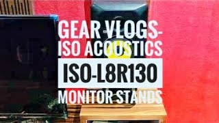 Gear vlogs#3 Unboxing and Installing ISO Acoustics ISO-L8R130 Monitor Stand