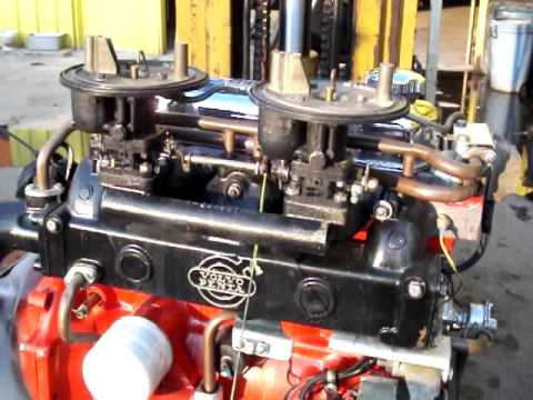 Volvo Penta AQ130(B20) boat engine - YouTube