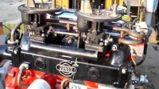 volvo penta aq130(b20) boat engine - youtube  youtube